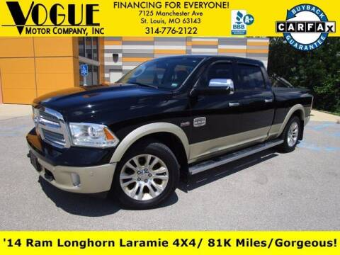 2014 RAM Ram Pickup 1500 for sale at Vogue Motor Company Inc in Saint Louis MO