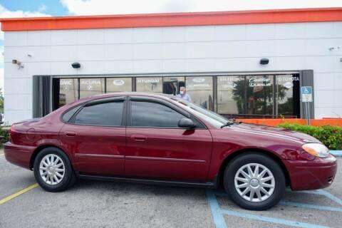 2005 Ford Taurus for sale at Car Depot in Miramar FL