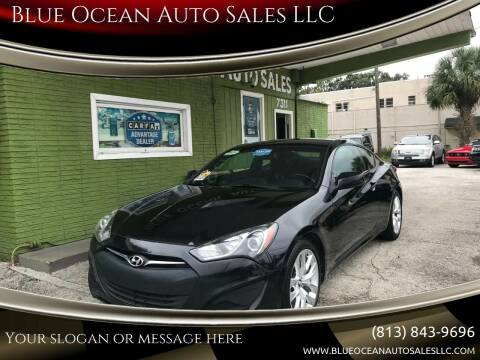 2013 Hyundai Genesis Coupe for sale at Blue Ocean Auto Sales LLC in Tampa FL