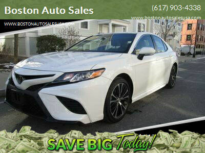 2018 Toyota Camry for sale at Boston Auto Sales in Brighton MA