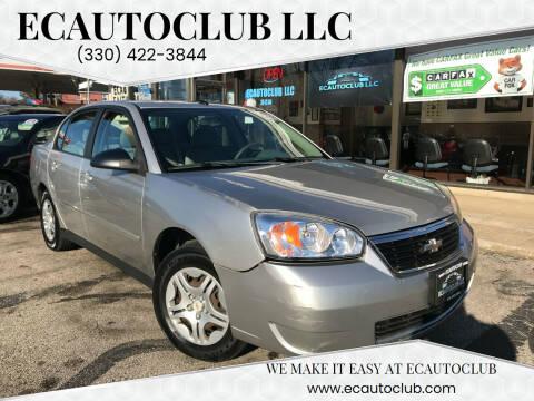 2006 Chevrolet Malibu for sale at ECAUTOCLUB LLC in Kent OH