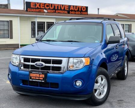 2012 Ford Escape for sale at Executive Auto in Winchester VA