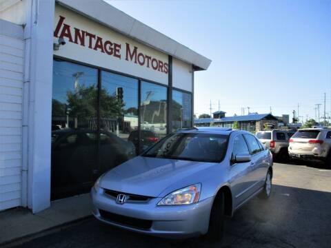 2004 Honda Accord for sale at Vantage Motors LLC in Raytown MO