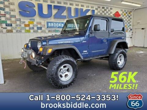 2004 Jeep Wrangler for sale at BROOKS BIDDLE AUTOMOTIVE in Bothell WA