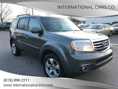2012 Honda Pilot for sale at International Cars Co in Murfreesboro TN