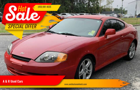 2004 Hyundai Tiburon for sale at A & R Used Cars in Clayton NJ