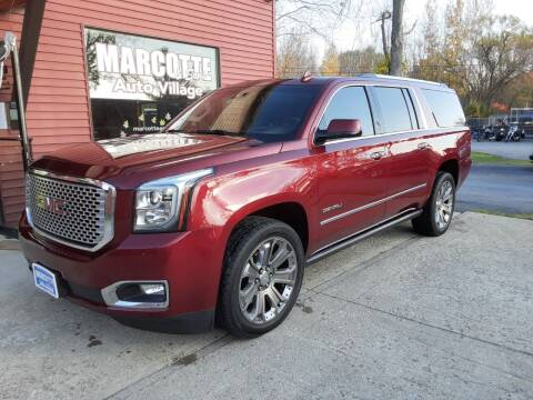 2016 GMC Yukon XL for sale at Marcotte & Sons Auto Village in North Ferrisburgh VT