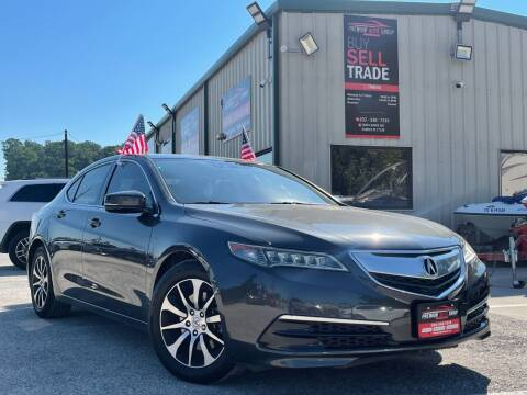2015 Acura TLX for sale at Premium Auto Group in Humble TX