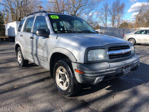 2002 Chevrolet Tracker for sale at PARK AVENUE AUTOS in Collingswood NJ