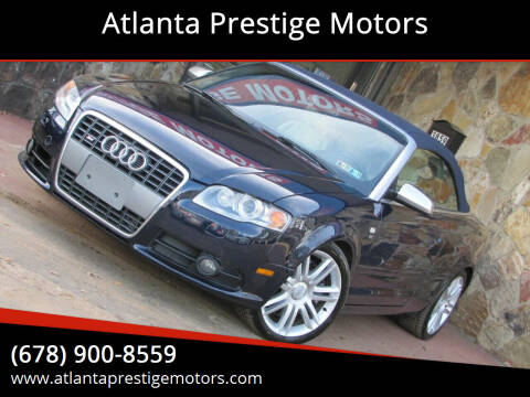 2007 Audi S4 for sale at Atlanta Prestige Motors in Decatur GA