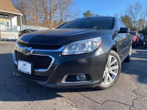 2015 Chevrolet Malibu for sale at Mega Motors in West Bridgewater MA