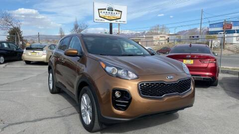 2017 Kia Sportage for sale at CarSmart Auto Group in Murray UT