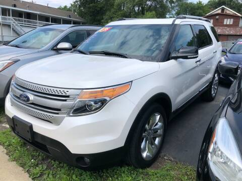 2013 Ford Explorer for sale at JB Auto Sales in Schenectady NY