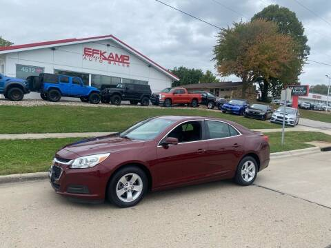 2015 Chevrolet Malibu for sale at Efkamp Auto Sales LLC in Des Moines IA