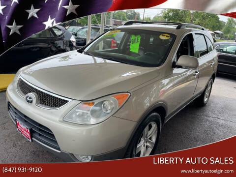 2008 Hyundai Veracruz for sale at Liberty Auto Sales in Elgin IL