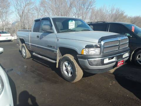 1999 Dodge Ram Pickup 1500 for sale at BARNES AUTO SALES in Mandan ND