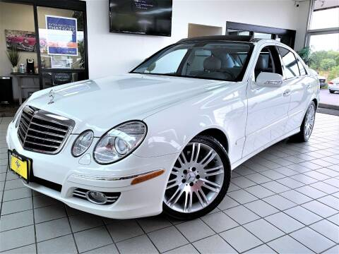 2007 Mercedes-Benz E-Class for sale at SAINT CHARLES MOTORCARS in Saint Charles IL