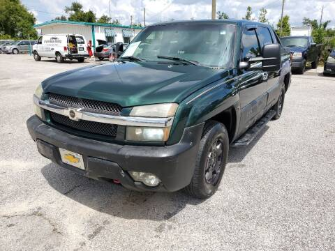 2002 Chevrolet Avalanche for sale at Jamrock Auto Sales of Panama City in Panama City FL