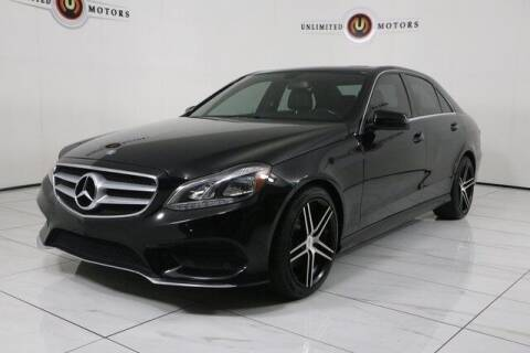 2015 Mercedes-Benz E-Class for sale at INDY'S UNLIMITED MOTORS - UNLIMITED MOTORS in Westfield IN