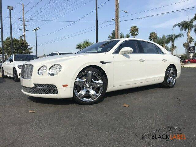 2015 Bentley Flying Spur for sale at BLACK LABEL AUTO FIRM in Riverside CA