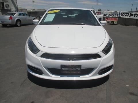 2015 Dodge Dart for sale at Quick Auto Sales in Modesto CA