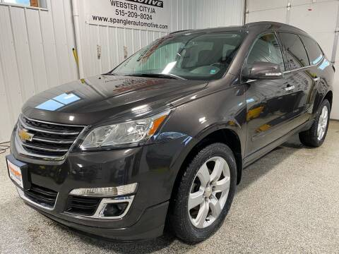 2017 Chevrolet Traverse for sale at SPANGLER AUTOMOTIVE WC LLC in Webster City IA