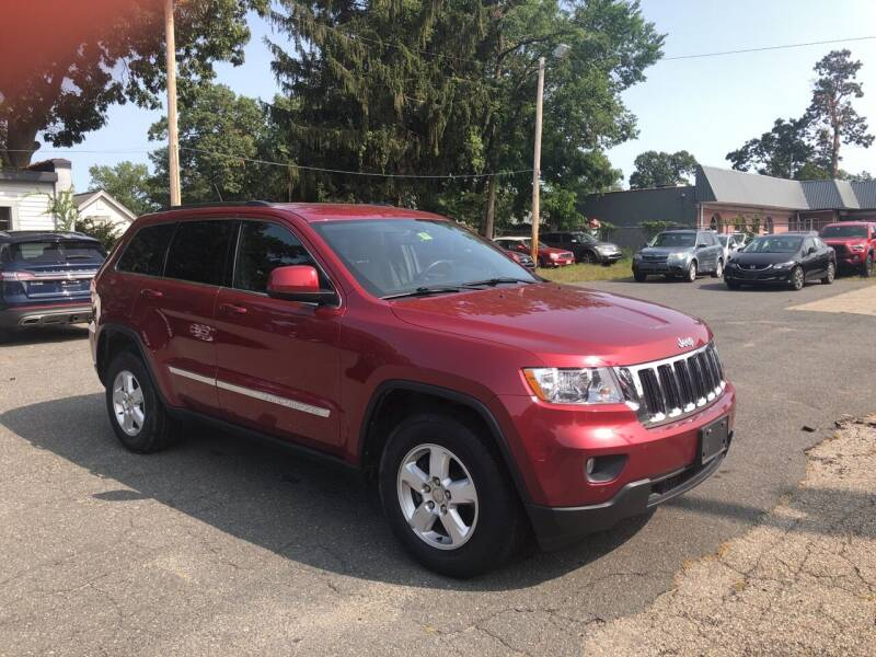 2013 Jeep Grand Cherokee for sale at Chris Auto Sales in Springfield MA