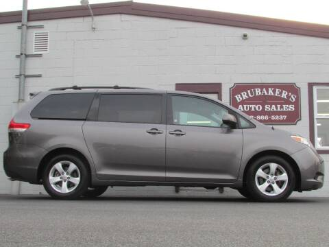 2014 Toyota Sienna for sale at Brubakers Auto Sales in Myerstown PA