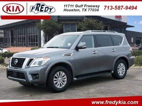 2019 Nissan Armada for sale at FREDY KIA USED CARS in Houston TX