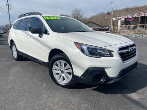 2018 Subaru Outback for sale at Elk Avenue Auto Brokers in Elizabethton TN