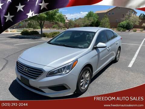 2016 Hyundai Sonata for sale at Freedom Auto Sales in Albuquerque NM