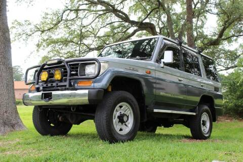 1990 Toyota Land Cruiser for sale at ROADSTERS AUTO in Houston TX