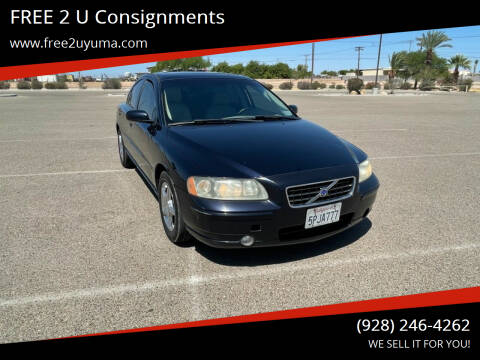 2005 Volvo S60 for sale at FREE 2 U Consignments in Yuma AZ