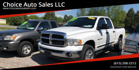 2005 Dodge Ram Pickup 1500 for sale at Choice Auto Sales LLC - Cash Inventory in White House TN