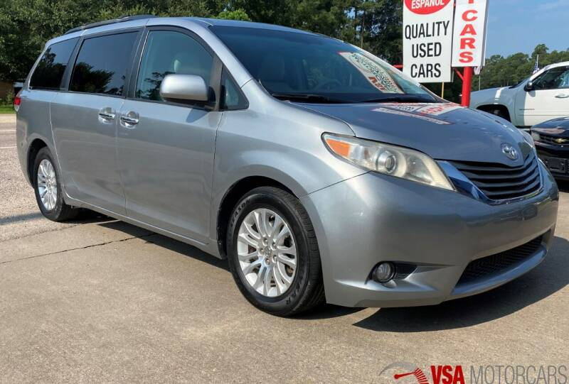2011 Toyota Sienna for sale at VSA MotorCars in Cypress TX
