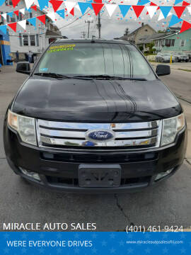 2008 Ford Edge for sale at MIRACLE AUTO SALES in Cranston RI