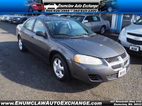 2005 Dodge Stratus for sale at Enumclaw Auto Exchange in Enumclaw WA