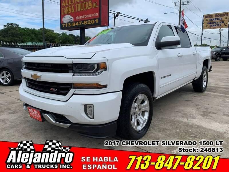 2017 Chevrolet Silverado 1500 for sale at Alejandro Cars & Trucks Inc in Houston TX