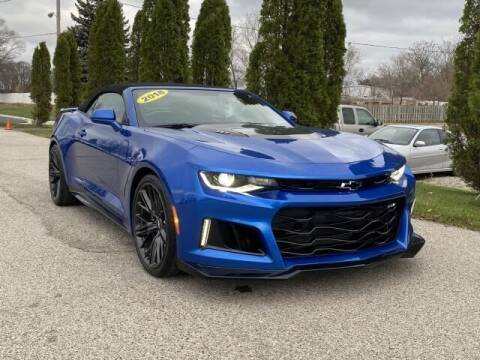2018 Chevrolet Camaro for sale at Betten Baker Preowned Center in Twin Lake MI