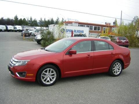 2012 Ford Fusion for sale at NORTHWEST AUTO SALES LLC in Anchorage AK