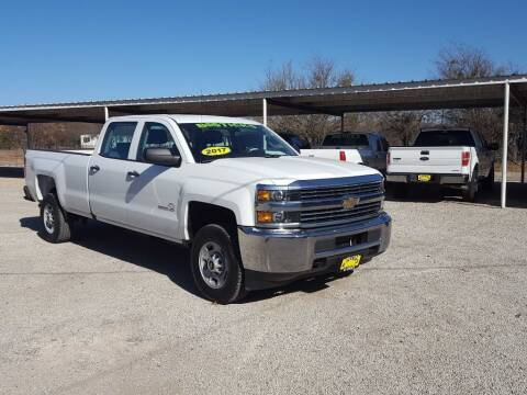 2017 Chevrolet Silverado 2500HD for sale at Bostick's Auto & Truck Sales in Brownwood TX