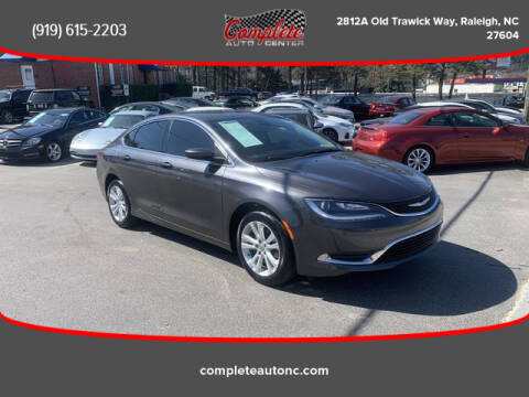 2016 Chrysler 200 for sale at Complete Auto Center , Inc in Raleigh NC