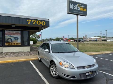 2012 Chevrolet Impala for sale at MotoMaxx in Spring Lake Park MN