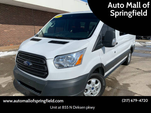 2017 Ford Transit Passenger for sale at Auto Mall of Springfield north in Springfield IL