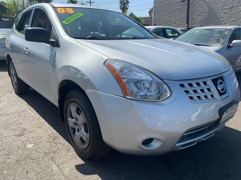 2008 Nissan Rogue for sale at North County Auto in Oceanside CA