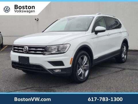 2021 Volkswagen Tiguan for sale at Boston Volkswagen in Watertown MA