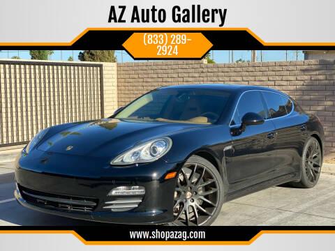 2011 Porsche Panamera for sale at AZ Auto Gallery in Mesa AZ