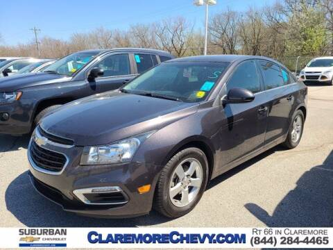 2016 Chevrolet Cruze Limited for sale at Suburban Chevrolet in Claremore OK