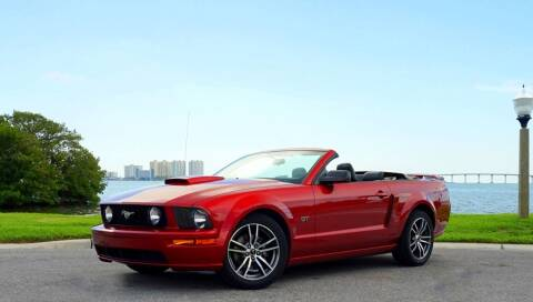 2007 Ford Mustang for sale at P J'S AUTO WORLD-CLASSICS in Clearwater FL