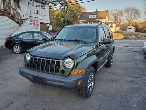 2007 Jeep Liberty for sale at JR's Auto Connection in Hudson NH